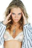 γυναίκα προσώπου ομορφιάς στοκ φωτογραφίες με δικαίωμα ελεύθερης χρήσης