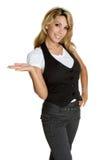 γυναίκα προϊόντων Στοκ φωτογραφία με δικαίωμα ελεύθερης χρήσης