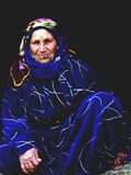 Γυναίκα πρόσφυγας Στοκ Φωτογραφία