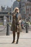 γυναίκα πόλεων Στοκ Εικόνες