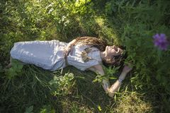 Γυναίκα σαμάνων τσιγγάνων Στοκ εικόνα με δικαίωμα ελεύθερης χρήσης