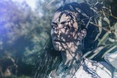 Γυναίκα σαμάνων Στοκ Εικόνες