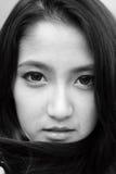 Γυναίκα σε γραπτό Στοκ εικόνες με δικαίωμα ελεύθερης χρήσης