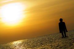 γυναίκα σκιαγραφιών Στοκ εικόνες με δικαίωμα ελεύθερης χρήσης
