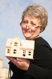 γυναίκα σπιτιών senoir Στοκ Φωτογραφίες