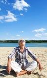 Γυναίκα στα γυαλιά ηλίου Στοκ Φωτογραφίες