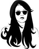 Γυναίκα στα γυαλιά ηλίου Στοκ εικόνες με δικαίωμα ελεύθερης χρήσης