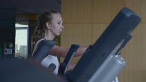 Γυναίκα στη γυμναστική φιλμ μικρού μήκους