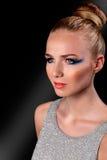 Γυναίκα στη μόδα makeup Στοκ Φωτογραφία