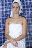 Γυναίκα στη SPA Στοκ Φωτογραφία