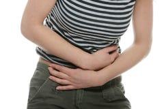 γυναίκα στομαχιών ζητημάτω στοκ φωτογραφία με δικαίωμα ελεύθερης χρήσης