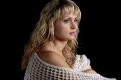 γυναίκα στούντιο πορτρέτ&omicr Στοκ Φωτογραφίες