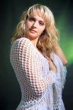 γυναίκα στούντιο πορτρέτ&omicr Στοκ εικόνα με δικαίωμα ελεύθερης χρήσης