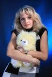 γυναίκα στούντιο πορτρέτ&omicr Στοκ φωτογραφίες με δικαίωμα ελεύθερης χρήσης