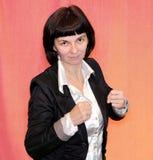 Γυναίκα στο θυμό Στοκ εικόνα με δικαίωμα ελεύθερης χρήσης