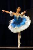 Γυναίκα στο μπαλέτο Στοκ φωτογραφίες με δικαίωμα ελεύθερης χρήσης
