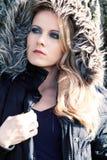 Γυναίκα στο σακάκι στοκ φωτογραφία με δικαίωμα ελεύθερης χρήσης