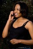 Γυναίκα στο τηλέφωνο στοκ εικόνες με δικαίωμα ελεύθερης χρήσης