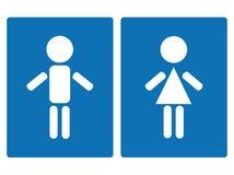 γυναίκα συμβόλων ανδρών Απεικόνιση αποθεμάτων