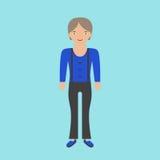 Γυναίκα της Farmer στις φόρμες διανυσματική απεικόνιση