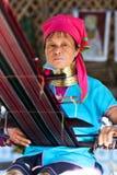 γυναίκα της Myanmar padaung Στοκ Φωτογραφία