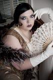 Γυναίκα του Art Deco στοκ φωτογραφία με δικαίωμα ελεύθερης χρήσης