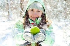 Γυναίκα το χειμώνα στοκ εικόνες με δικαίωμα ελεύθερης χρήσης