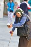 Γυναίκα τσιγγάνων στο Παρίσι Στοκ Εικόνα