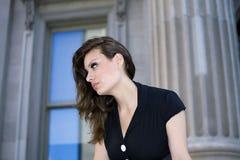Γυναίκα υπαίθρια Στοκ φωτογραφίες με δικαίωμα ελεύθερης χρήσης