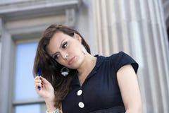 Γυναίκα υπαίθρια Στοκ Εικόνα