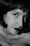 Γυναίκα λυπημένη και που σκέφτεται Στοκ Εικόνες
