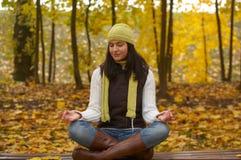 γυναίκα φθινοπώρου στοκ φωτογραφίες με δικαίωμα ελεύθερης χρήσης