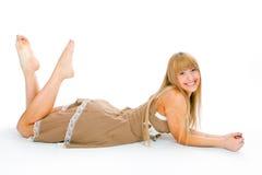γυναίκα φορεμάτων στοκ εικόνες