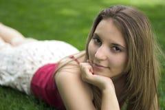 γυναίκα χαμόγελου Στοκ εικόνα με δικαίωμα ελεύθερης χρήσης
