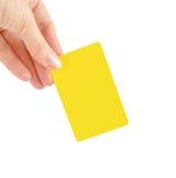 γυναίκα χεριών καρτών στοκ φωτογραφία με δικαίωμα ελεύθερης χρήσης