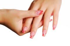 γυναίκα χεριών Στοκ εικόνα με δικαίωμα ελεύθερης χρήσης