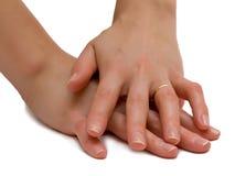 γυναίκα χεριών s Στοκ φωτογραφίες με δικαίωμα ελεύθερης χρήσης