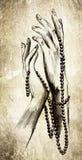 γυναίκα χεριών s Στοκ εικόνες με δικαίωμα ελεύθερης χρήσης