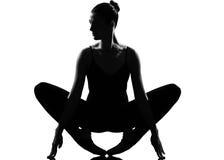 γυναίκα χορευτών μπαλέτο& Στοκ Εικόνα