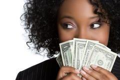 γυναίκα χρημάτων εκμετάλ&lambda Στοκ Εικόνα