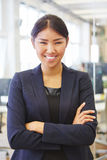 Γυναίκα ως γεμάτη αυτοπεποίθηση επιχειρηματία Στοκ Φωτογραφία