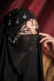 γυναίκα ύφους ανατολικού πορτρέτου Στοκ εικόνες με δικαίωμα ελεύθερης χρήσης