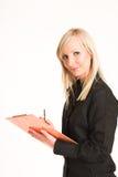 γυναίκα 305 επιχειρήσεων Στοκ Εικόνες