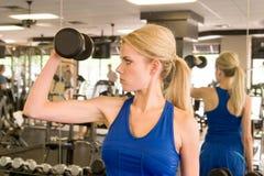 γυναίκα 4 weightlifter Στοκ Φωτογραφίες