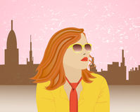 Γυναίκα Απεικόνιση αποθεμάτων