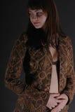 γυναίκα 6 φορεμάτων Στοκ Εικόνα