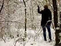 Γυναίκα Backwoods στοκ φωτογραφίες με δικαίωμα ελεύθερης χρήσης