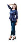 Γυναίκα Brunette στοκ εικόνα με δικαίωμα ελεύθερης χρήσης