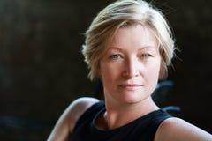 Γυναίκα headshot Στοκ Φωτογραφίες
