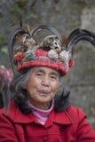 Γυναίκα ifugao πορτρέτου σε Banaue, Φιλιππίνες Στοκ Εικόνες